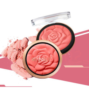 Blush Fashion Flower Shaped Blusher Powder Makeup Cosmetic Natural Blush Powder Blush Palette Face Makeup Peach Blushes