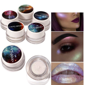 6 Colors Face Shimmer Highlighters Cream Pressed Loose Powder Makeup Colorful