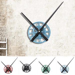 13cm Round Quartz Wall Clock Modern Home Living Room Hanging Watch DIY Decorations
