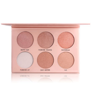 MISS ROSE 6 Colors Highlighter Powder Shading Shimmer Contour Mineral Nude Makeup Cosmetic