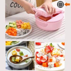 9 IN 1 Multifunktionell Easy Food Chopper Cutter Vegetabilisk Cutter Blender Chopper Slicer