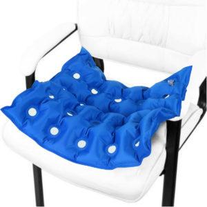 42 x 43cm Air Seat Cushion Universal Car Non-Slip Seat Air Pad Airbag Uppblåsbar Massage Seat Cushion