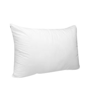 1 Piece White Soft FEATHER FABRIC Fill Bedding Pillow Inner Core