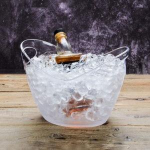 4L Plast Transparent Garden Ice Bucket Super Large Ice Bucket Beer Champagne Ice Bucket Bar Tools