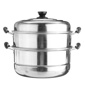 3 -stegs rostfri gryta ångkokare ånga matlagning spis grytor het gryta kök matlagning verktyg