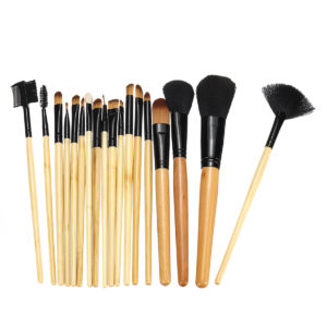 18 st Makeup-borstar Set Eyebrow Eyeliner Foundation Brush Pincel Maquiagem Powder Blush Professional Muti-forms