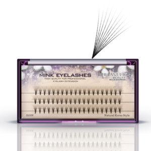 10D Black 8/9/10/12mm False Eyelash Individual Eyelashes Extension Cluster Kit Grafting Eyes Lashes
