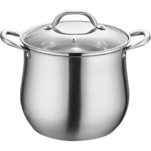 Kitchen Stainless Steel Soup Pot Stockpot Boiling Cooking Saucepan Pot