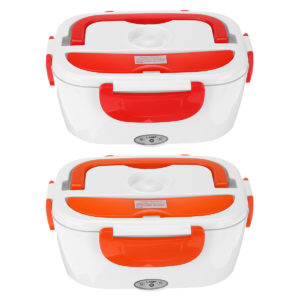 110V Portable Heating Lunch Box Thermostat Food Warmer Container Mini Rice Cooker