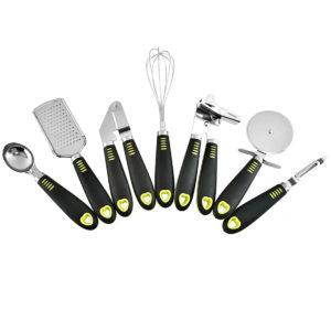 7 Piece Cooking Utensil Set Stainless Steel Kitchen Gadget Tool Nylon Handles Kitchen Cookware Set