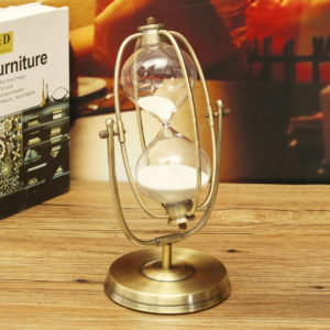30 minuters rullande sand timglas Sandglass sand timer klocka hem rum dekorationer gåva