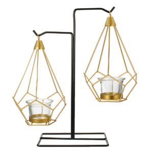 Creative Nordic Style Light Luxury Candle Holder Table Romantic Wedding Decor Crafts Storage