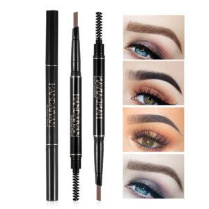 5 Colors Double Head Eyebrow Pencil Eyebrow Brush