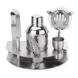 350 ml Bar Dryck Cocktail Shaker Jigger Mixer Sets Bartender Tool Kit i rostfritt stål