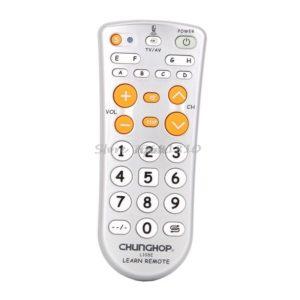 CHUNGHOP L108E Kombinationsinlärningsfunktion TV Fjärrkontroll 11-tangent för DVD-stereoprojektion