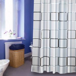 240x200CM Big Cube Shower Curtain Waterproof Mildewproof Easy to Clean Shower Curtain