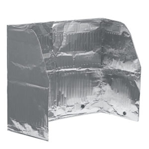 120x50cm Aluminum Foil Stove Oil Splash Screen Cover Anti Splatter Guard Tools