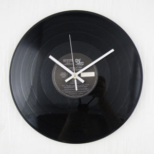 12 tums retro klassisk vinyl fonograf skiva album väggklocka heminredning gåva