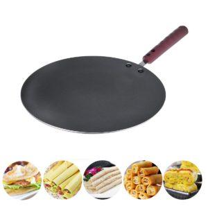 30CM Aluminium Flat Crepe Maker Pan Non Stick Baking Pancake Pan Stekgryta