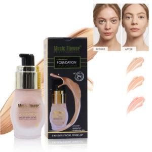 Tight Fit Foundation Oil-control Facial Base Brighten BB Cream Cheek Concealer Makeup Natural Moisturizer