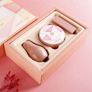 Mushroom Head Air Cushion Makeup Foundation Fuktgivande oljekontroll BB Cream Natural Whitening Concealer Brightening Makeup