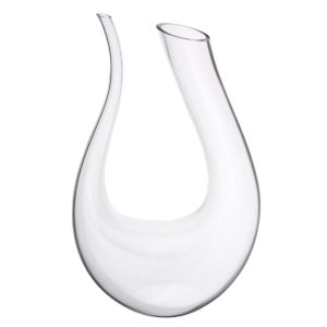 1.5L Wine Champange Glass Decanter U-shaped Bottle Jug Pourer Aerator Lead Free Crystal Glass