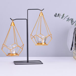 Luxurious Candle Holder Candle Stick Dinner Table Romantic Wedding Candlelight