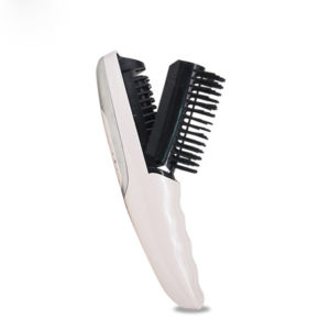 2 in 1 Electric Infrared Red Light Vibration Head Massage Comb Hair Growth Stress Relax Device