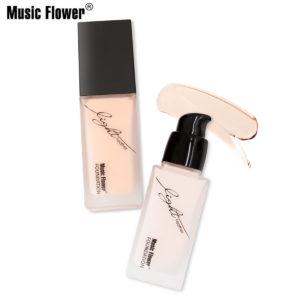5 färger Tight Fit Foundation Oil-control Facial Cream Base Brighten Cheek Concealer Makeup Natural Moisturizer