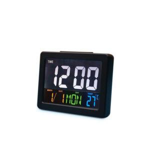 Calendar Multifunction Gift Home Temperature Clock LCD Display Desktop Electronic Digital LED Large Alarm Clock