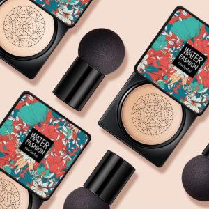 Svamphuvud Luftkudde BB Cream Koreansk Makeup Fuktgivande oljekontroll Concealer Vattentät Naturlig Brightening BBcream TSLM1