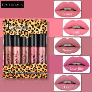 Matte Lip Gaze Five Mini Boxing lip gloss Lip Stick