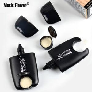 2 in 1 BB Cream+Brightener 24 Hours Lasting Waterproof Makeup Base Moisturizer Cheek Concealer Natural Foundation