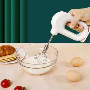 20W Wire; ess Electric Whisk Blender Portable Four-speed USB Charging Handheld Mixer