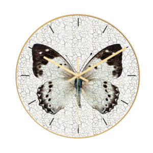 CC012 Creative Butterfly Pattern Wall Clock Mute Wall Clock Quartz Wall Clock For Home Office Decorations