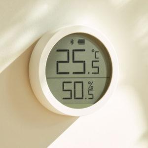 ClearGrass Qingping Bluetooth 5.0 Smart temperaturfuktighetssensorkontroll Inomhushygrometer termometerdetektor Arbeta med Xiaomi Mijia APP