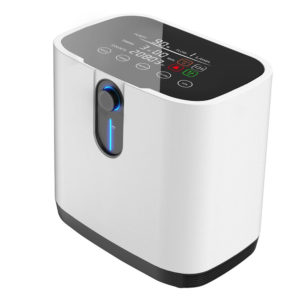 AC220V Oxygen Concentrator Portable Oxygen Generator Home Oxygen Machine Homecare Medical Equipment Negative Oxygen Ion Function Low Noise