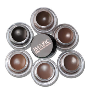 IMAGIC 6 Color Eyebrow Tint Makeup Vattentät ögonbryn Pomade Gel Enhancer Cosmetic Eye Makeup Eye Brow Cream